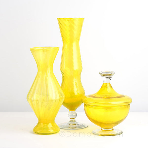 Empoli Glass Yellow Group 2