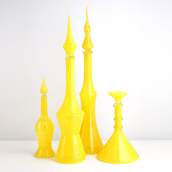 Empoli Glass Yellow Group 4