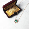 Art Deco Emerald Necklace