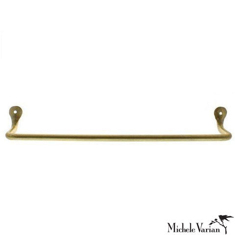 Brass Wall Towel Bar