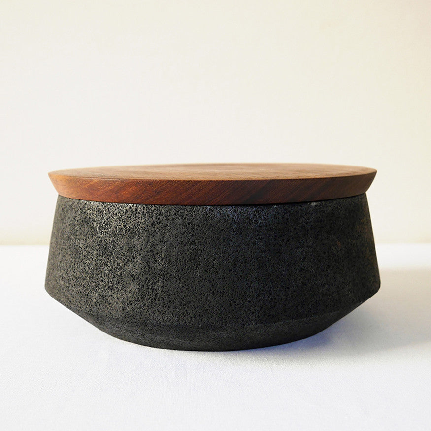 Volcanic Stone Bread Box