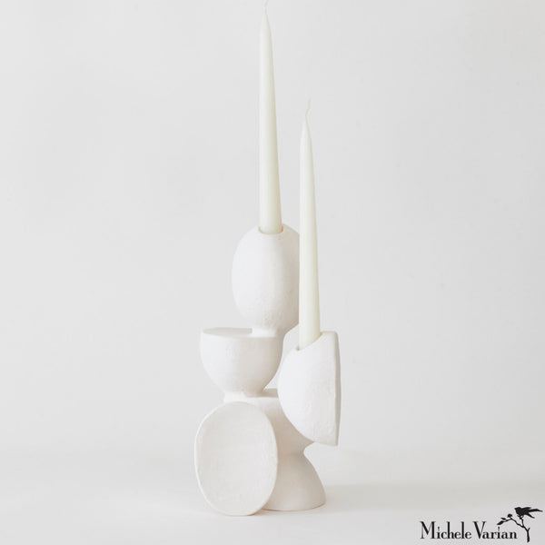 VELAS no 22 Ceramic Sculptural Candleholder