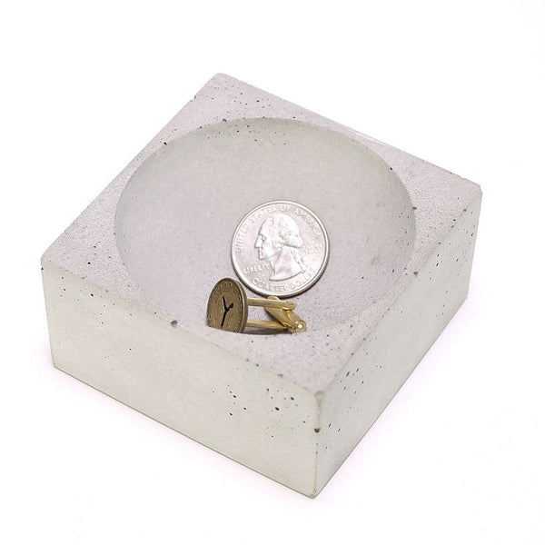 Concrete Change Holder