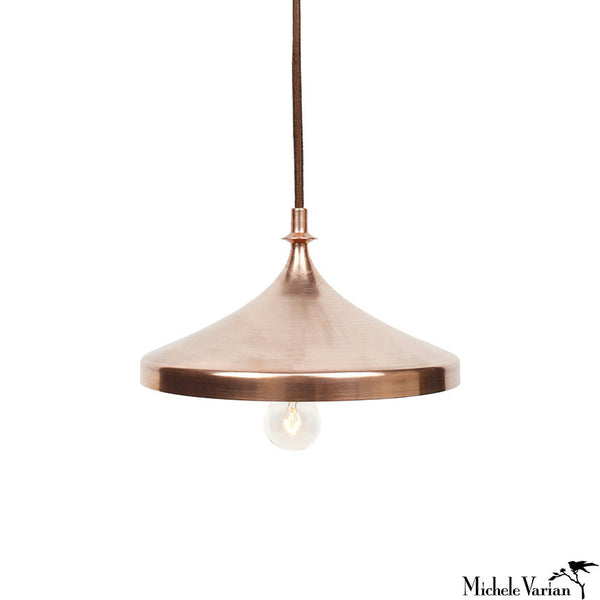 Copper Disk Pendant Lamp