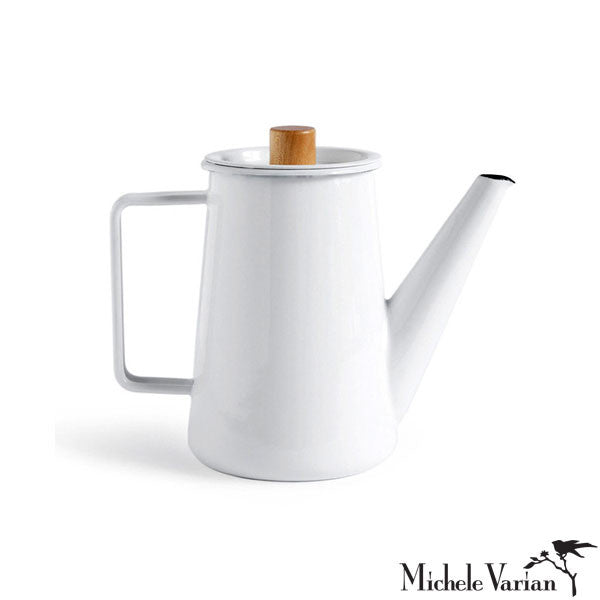 Japanese Enamel Coffee Pot