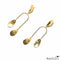 Tiered Flower Petal Shapes Earrings
