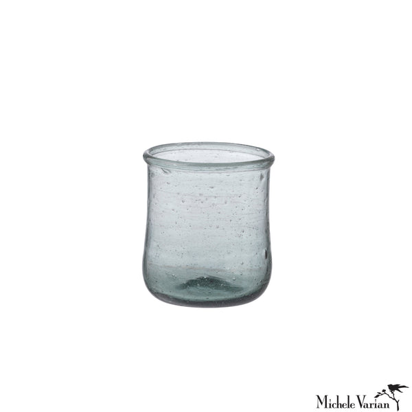 Small Glass or Votive Ocean Blue
