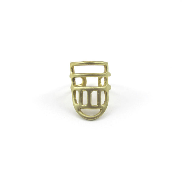 Goldeluxe Jewelry Linear Ring Size 7