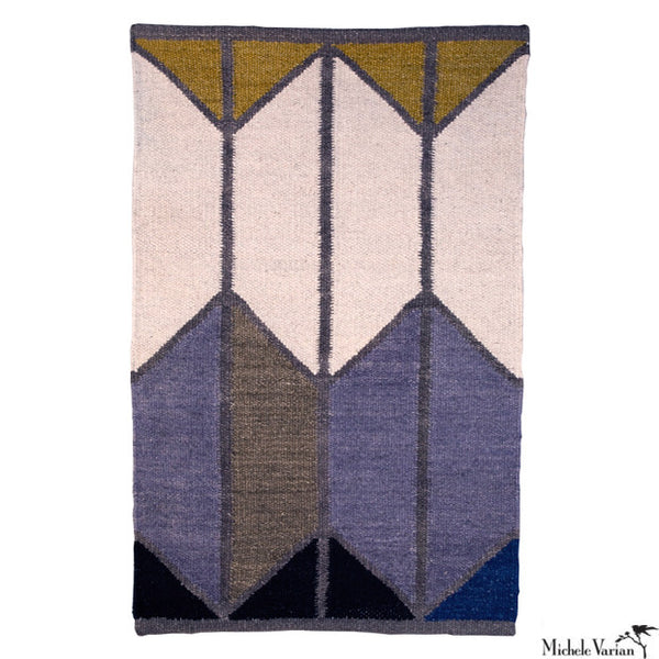 Wool Geometric Shapes Rug No. 3