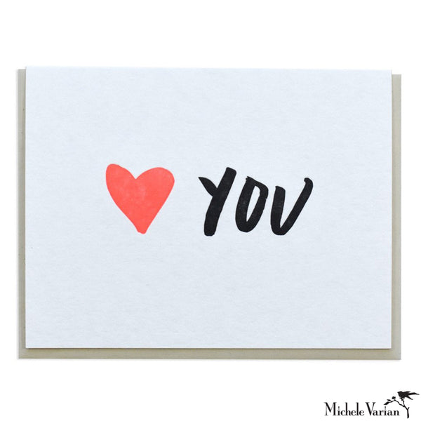 Heart You Card