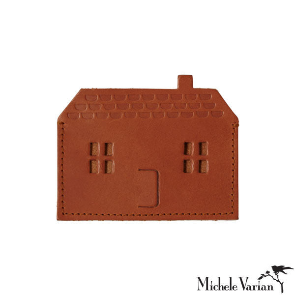 House Leather Card Holder