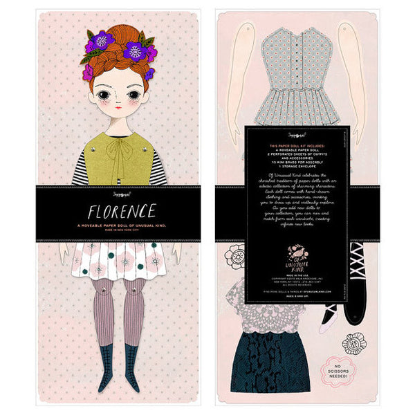 Florence Paper Doll Kit