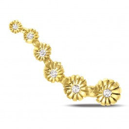 Journey Blossom Gold Stud