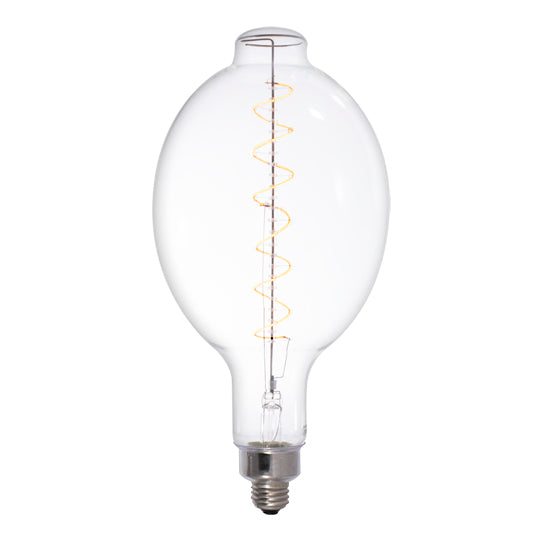 LED Clear Oversize E26 Base BT56 Bulb