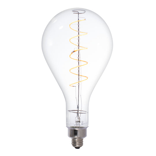 LED Clear Oversize E26 Base PS52 Bulb