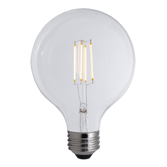 LED Clear Globe E26 Base G40 Bulb