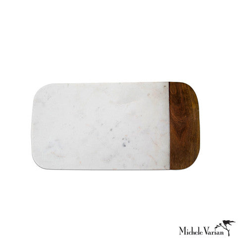 Marble and Wood Cheese Platter Small
