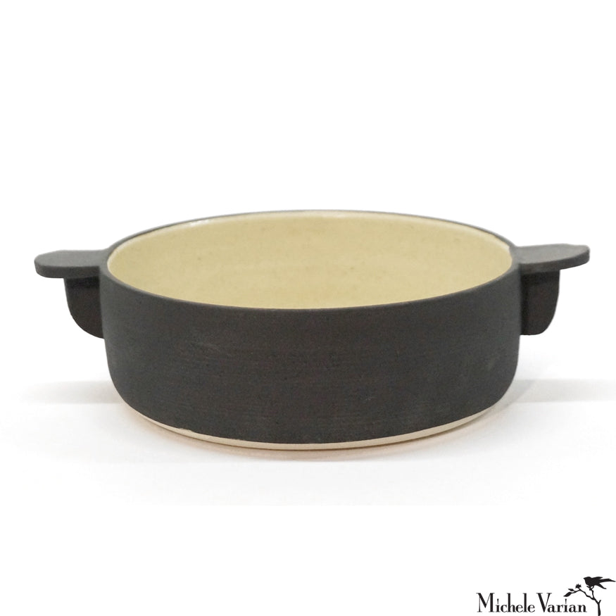 Black Casserole Dish Medium