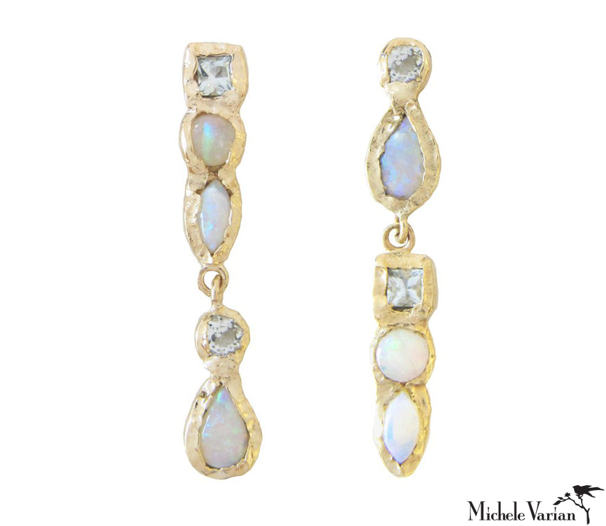 aquaria item stauer nile earrings com cascade