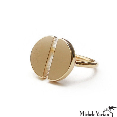 Brass Mitosis Ring