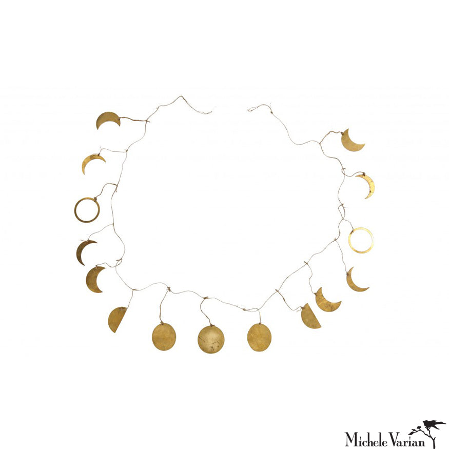 Moon Phases Garland