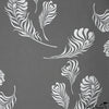 Plume Wallpaper Graphite Silver