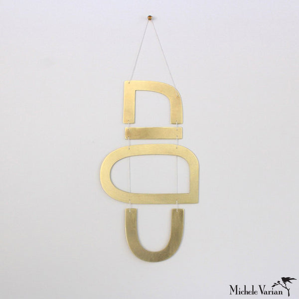 Brass Wall Hanging AW1