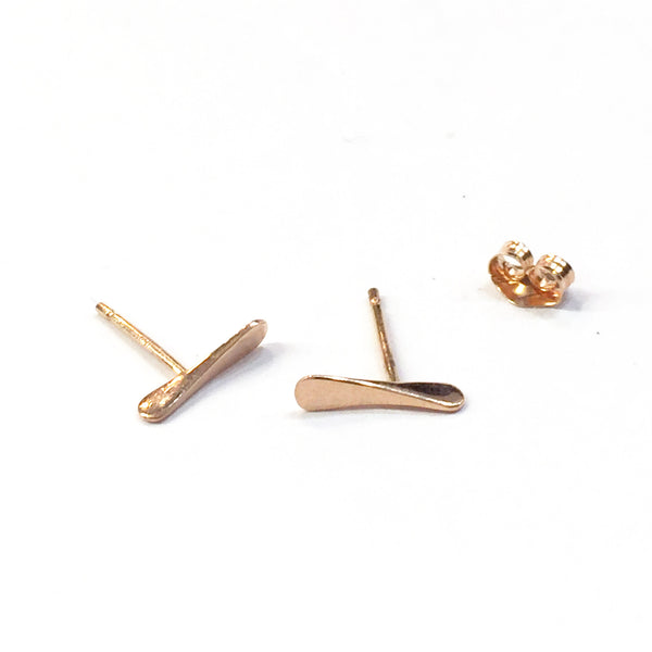 Propelle Rose Gold Earrings