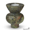 Green Marble Candle Holder Set of 5