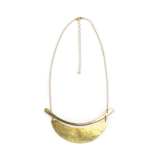 Brass Sahara Necklace