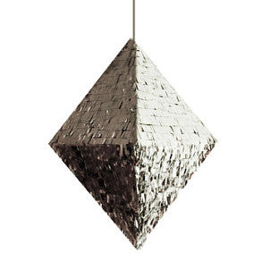 Silver Diamond Pinata