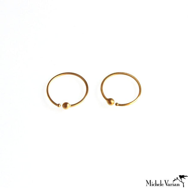 Small Loop Earrings