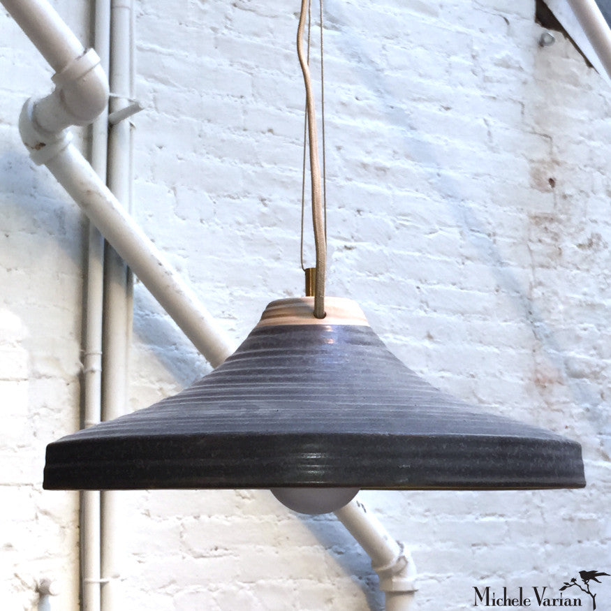 Stoneware Pendant Light
