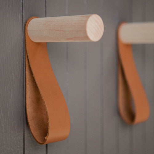 Modern Homes Peg: Peg And Strap Wall Hook