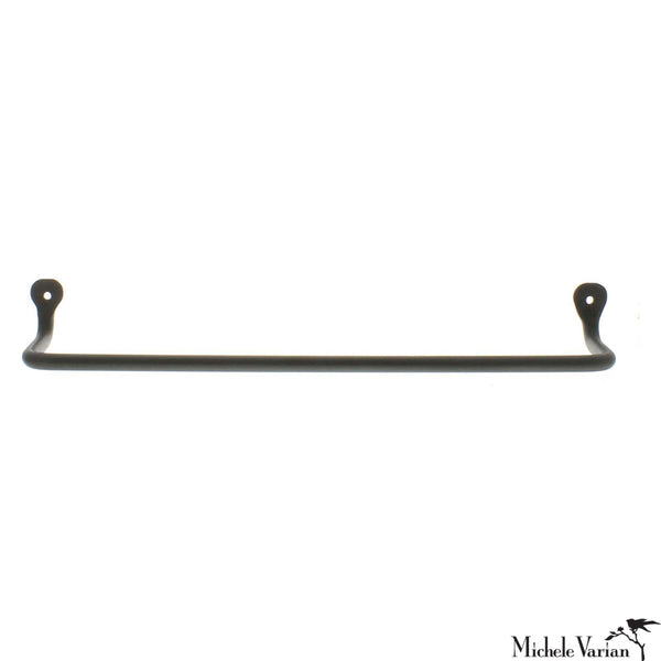 Black Towel Bar