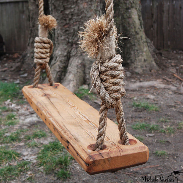 Wood Tree Swing