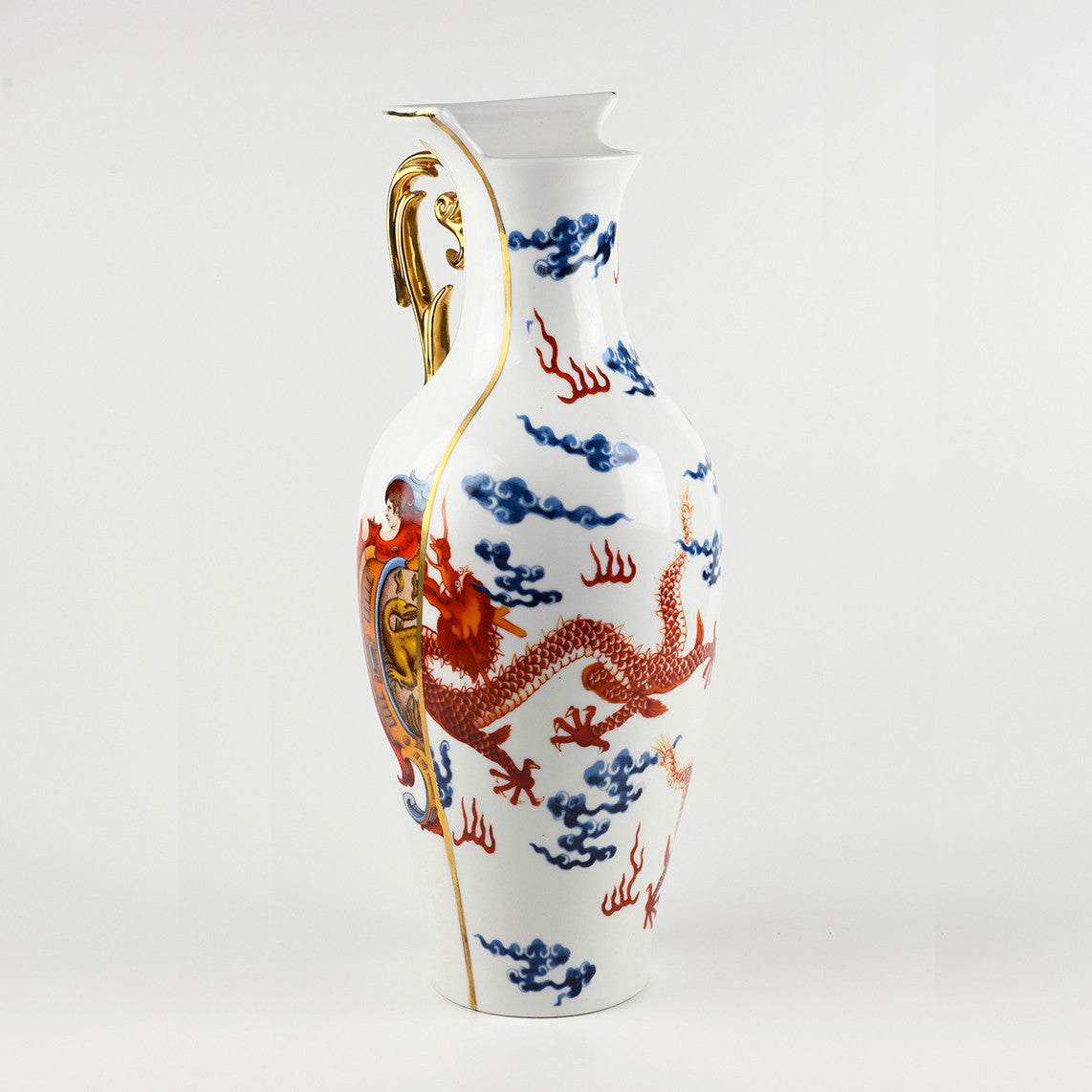 Juxtaposed Vase