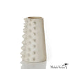 Spiked Ivory Vessel Tall