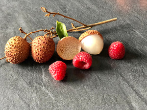 Mes fruits a tartiner framboise litchi