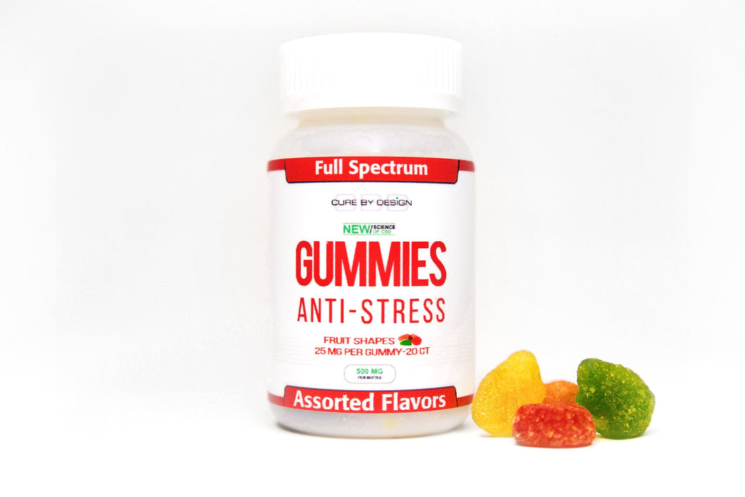 ANTI-STRESS CBD GUMMIES