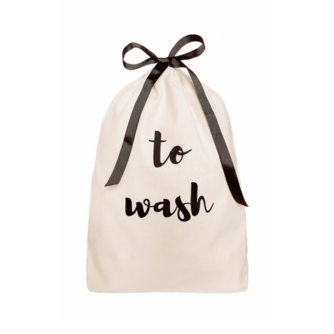 "Large Bag ""To Wash"""