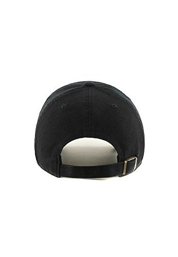 '47 Brand Chicago White Sox Clean Up MLB Strapback Hat Cap All Black/Black