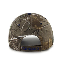 Load image into Gallery viewer, MLB Chicago Cubs '47 Frost MVP Camo Adjustable Hat, One Size Fits Most, Realtree Camouflage