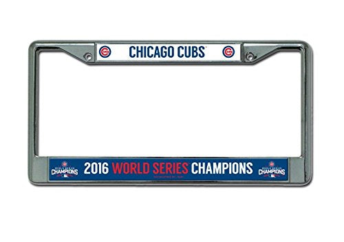 MLB Chicago Cubs World Series Chrome Frame, 12