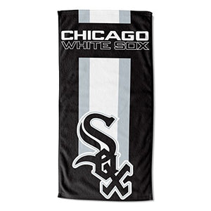 "Officially Licensed MLB Chicago White Sox Zone Read Beach Towel, 30"" x 60"""