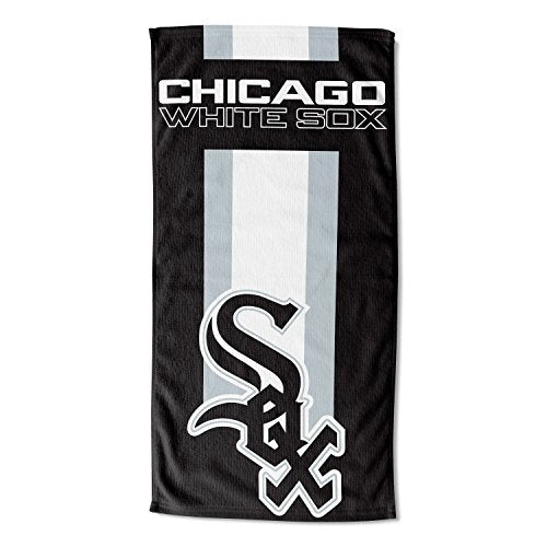 Officially Licensed MLB Chicago White Sox Zone Read Beach Towel, 30