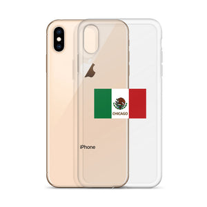 Mexico Flag - Chicago iPhone Case
