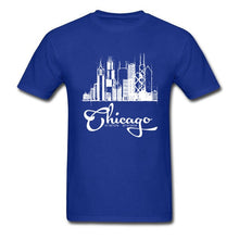 Load image into Gallery viewer, Chicago Skyline Sketch T-Shirt