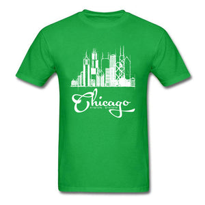 Chicago Skyline Sketch T-Shirt