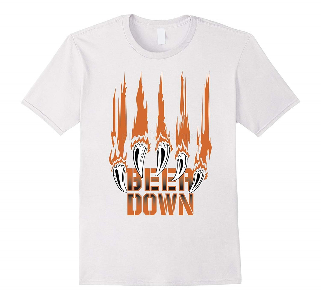 Beer Down Chicago Football T-Shirt
